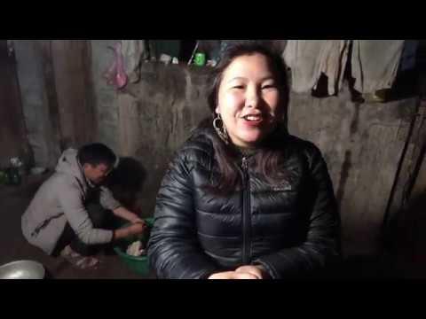 Vietnamese Hmong mountain village house
