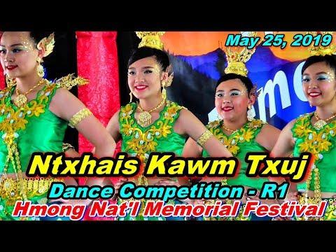 Ntxhais Kawm Txuj R1 @Hmong Nat'l Memorial Day Festival, Oshkosh, WI 5 25 19