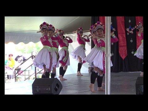 Pab Ntxhais Rain's Rhythm( R2 ) Dance Competition @ Hmong Nat'l Memorial Day Festival 5/26/2019
