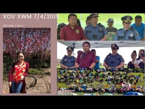 Xov Xwm: Lus Hawv Hmong J4 & Lus Teb Los Ntawm Police - posted 7/5/2019