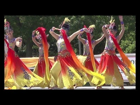 Snow Flakes Won 1st Place Dance Competition (Rd2) @ Sheboygan Hmong Festival 7/13-14/2019