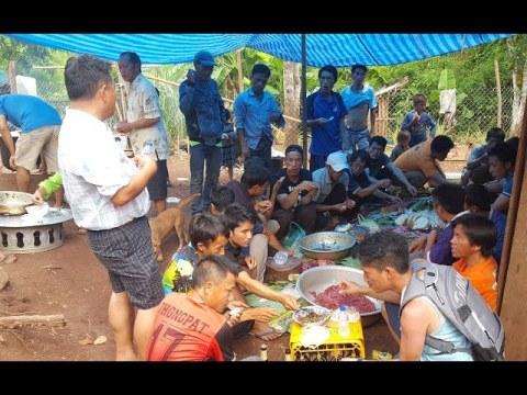 Day 2 with Hmong Relatives in Laos Luang Prabang (Ua Neeb Hu Plig)