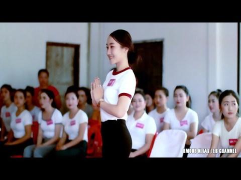 P1 ntxhais nkauj ntsuab taug kev Miss beauty Hmong Vientiane Capital Laos Lak 16