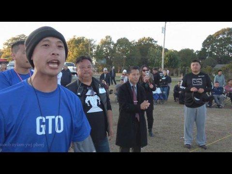 Hmong GA new year  SEMI FINAL The best man volleyball   11-10-2019-2020