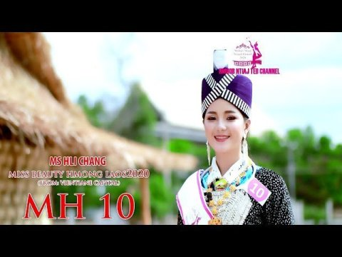 MH 10 Ms HLI CHANG Miss beauty Hmong Laos 2020