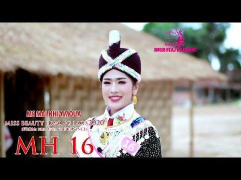 MH 16 Ms MAI NHIA MOUA Miss beauty Hmong Laos 2020
