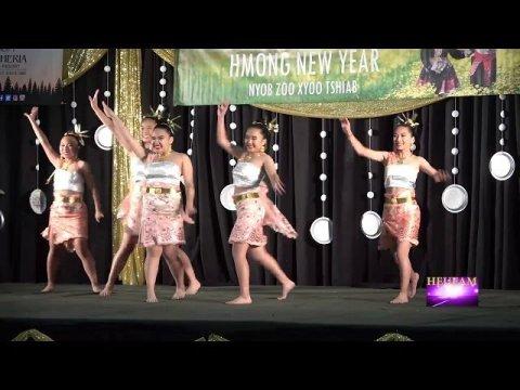 Stockton Hmong New Year 2019-2020: Dance Competition Thai Round -  Nkauj  Hmoob Hiav Txwv