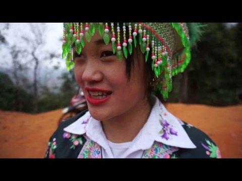 Nkauj Hmoob Ntawm Hlub - Xaib Qhog Chaw Tshua - Hmoob film Movie