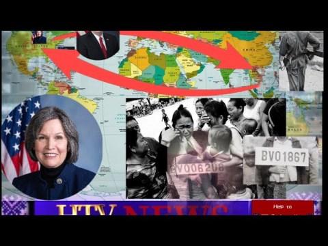 HTV NEWS: US CONGRESS WOMAN BETTY SAU NTAWV TSIS PUB XAV HMOOB  THIAB NPLOG ROV MUS LAOS 2-7-2020