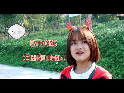 Em không có khẩu trang - gặp 2 em gái dân tộc Hmong xinh đẹp tại công viên Bắc Hà