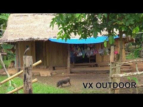Travel to Sayabouny, Laos Hmong Village - Ncig Teb Chaws Hmoob Toj Siab 2020 Continue part 2