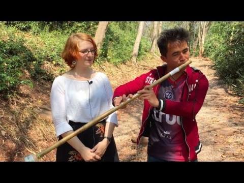 Hmong Wind Instrument - Raj Nplaim
