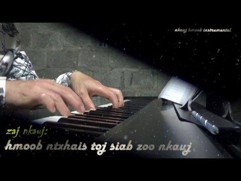 Hmoob Ntxhais Toj Siab Zoo Nkauj Tiag Tiag ll atc piano music