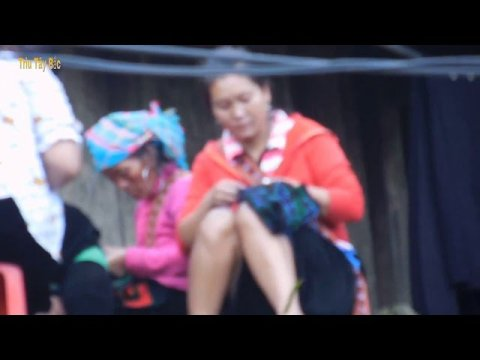 tham ban lang hmong sapa nhung ngoi nha tren doi nui