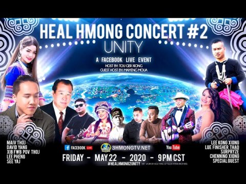 Heal Hmong Concert Series - Unity  - Slide Show 5/22/2020