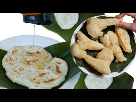 1 ingredient rice pancake, Hmong mochi   Tuav Ncuav Hmoob   by Everything Hmong