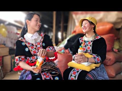 Trai Phố lên bản Tán Gái - Làm quen hai em Hmong Xinh Nhất Bản