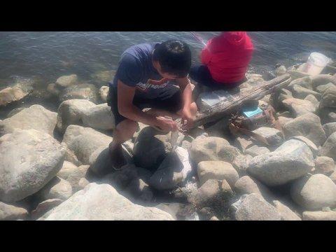 Hmong North Dakota white bass fishing