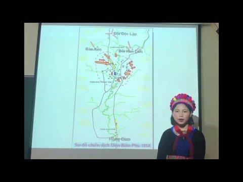 Bài thuyết trình: diễn biến chiến dịch Điện Biên Phủ (Tiếng Mông)