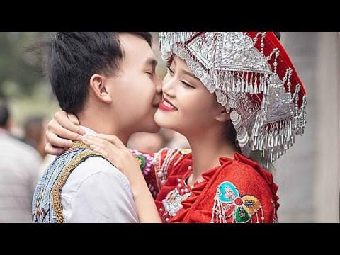 Hmoob Suav Xyab Xyib  Coj Nyab Qua Ntxhais   湘西苗族婚礼