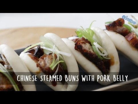 Hmong Food | Chinese Steamed Bun with Pork Belly by Kuv Tsev