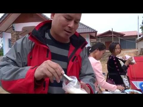 ชิมอาหารม้ง hmong food hmong zaub mov