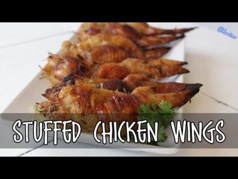 Hmong Food Stuffed Chicken Wings Kooj Tis Qaib