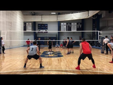 Hmong Volleyball Team Cloud 9 vs BIA 1/26/19 Concordia tournament game 2