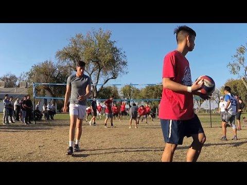 Stockton HNY 2019 Volleyball Final-Prime Time vs Maximum Effort G1