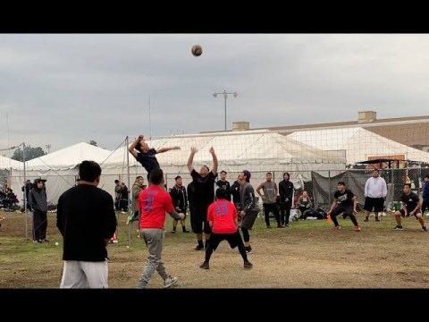 Merced New Year Volleyball