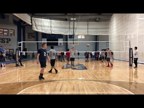 Hmong Volleyball Team Cloud 9 vs BIA Concordia tournament game 1 part 2