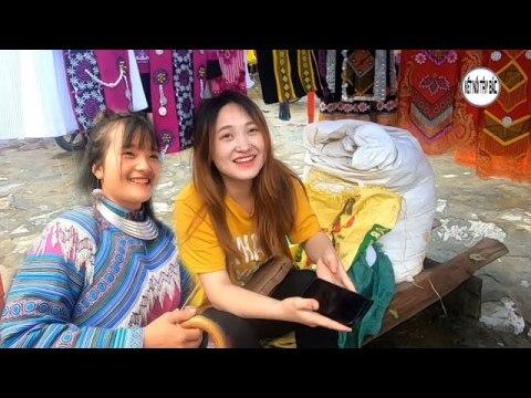 Thử tán gái Hmong ở chợ phiên simacai lào cai | KẾT NỐI TÂY BẮC