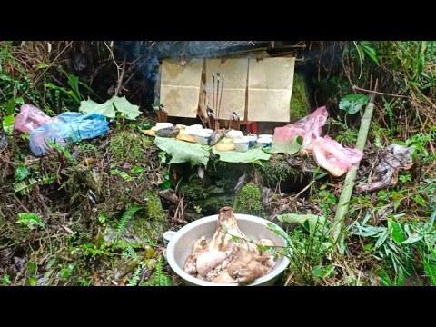 Phong tục hmong   Lễ cúng thần rừng của người dân tộc hmong ở Hà Giang