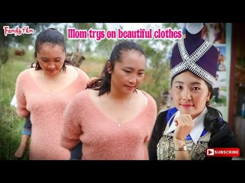 Mon trys on beautiful clothes (Khaub ncaw hmoob)