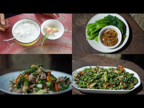 Ginger recipe - How Hmong people eat ginger?