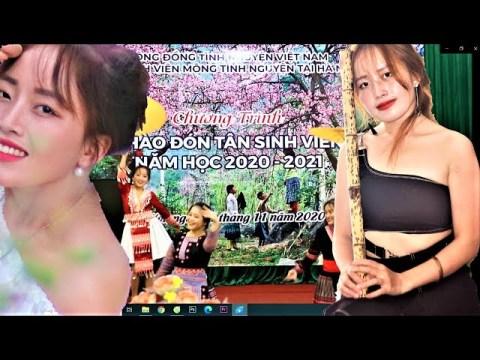 Cô Gái H'mông múa tiếng khèn bản làng Chào Tân sinh viên_ CLB Sinh viên H'mông tại Hà Nội