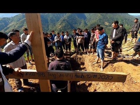 Thoj X Tsaab Lub Ntees Tug | Hmoong tuag Sapa, Vietnam | Hmong funeral in Sapa, Vietnam