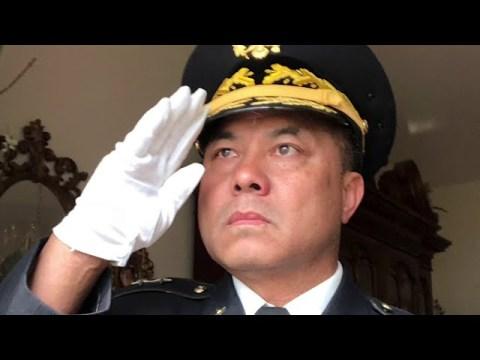 USND : USNDFSCOM's US Flag Covering the Casket Drills ( Hmong Wisdom / General Dr. Vue )
