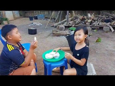 Tuav Ncuav Ntsw Suab Thaj - Hmong Rice Cake