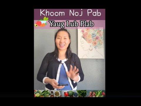 Khoom Noj Pab Yaug Lub Plab | Food Help Detox.