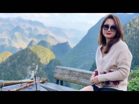 Người mẫu việt Nam yêu tiếng sáo mông cảnh đẹp Hà Giang