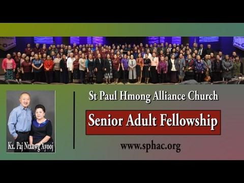 02-13-2021|| Senior Adult Fellowship || Kx. Paj Ntxawg Xyooj