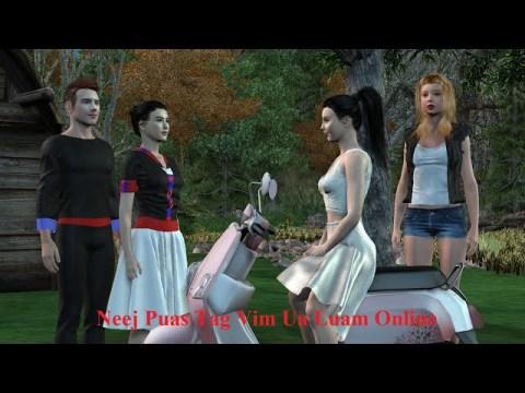 Neej Puas Tag Vim Ua Luam Online. Hmong 3D animation EP 4
