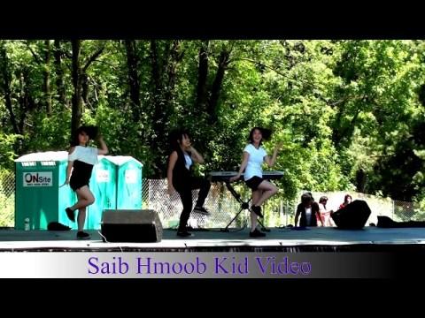Hmong Kid Dancing At Hmong J4
