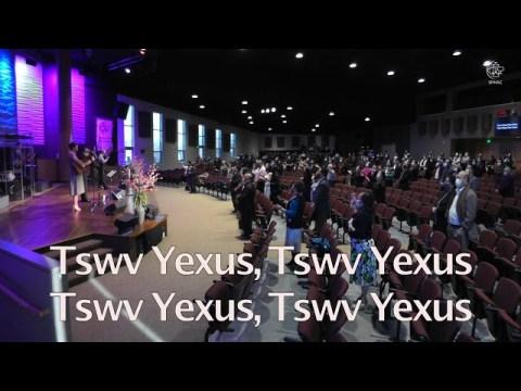 "03-28-2021 || Hmong Service ""Why Did Jesus Have to Die?"" || Dr. Txawj Riam Xyooj"
