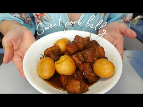 hmong sweet pork belly ~ ua nqaij qab zib | Sony ZV1 4K 30fps