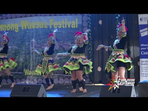 07/31/2021 - SnowFlakes Hmong Dancer competes at 2021 Hmong Wausau Festival