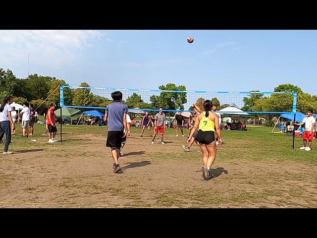 Skyy vs Shutdown Game 1   Rize Tournament Hmong Volleyball 2021