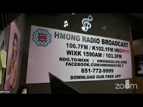 Hmong Radio Broadcast/ Souwan Thao's Group from CAPI/usa show health care, job, covid-19   9-21-2021