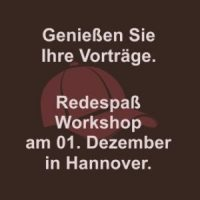 Redespaß-Workshop Hannover